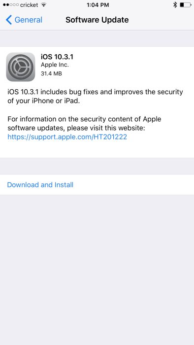 iOS 10.3.1 Brings Back Support for 32-bit Devices