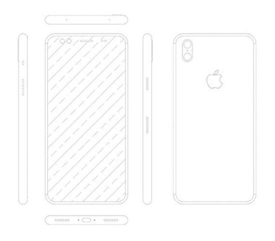 Likely Bogus Schematic of Apple's 'iPhone 8' Surfaces