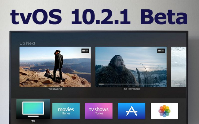 Apple Seeds Second Beta of tvOS 10.2.1 to Developers
