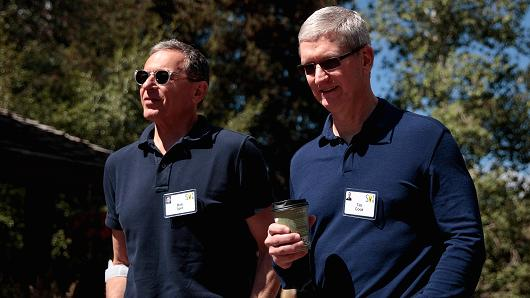 Investors Aren't Putting much Stock in the Apple/Disney Takeout Talk
