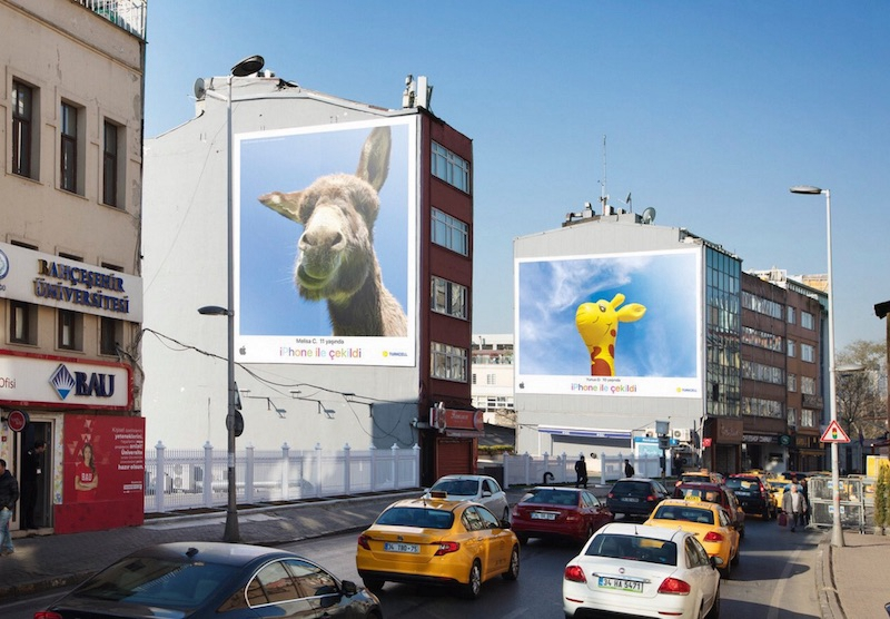 Apple Celebrates Children's Day in Turkey With New Billboard and Ad Campaign Fueled By 'Young Talent