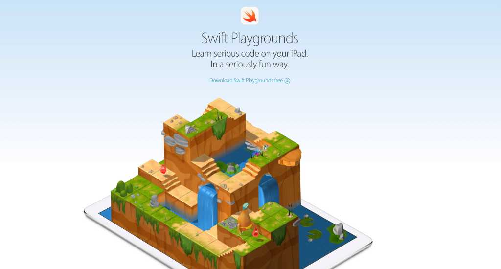 With Swift Playgrounds, Apple Has a Chance to Change Programming Forever