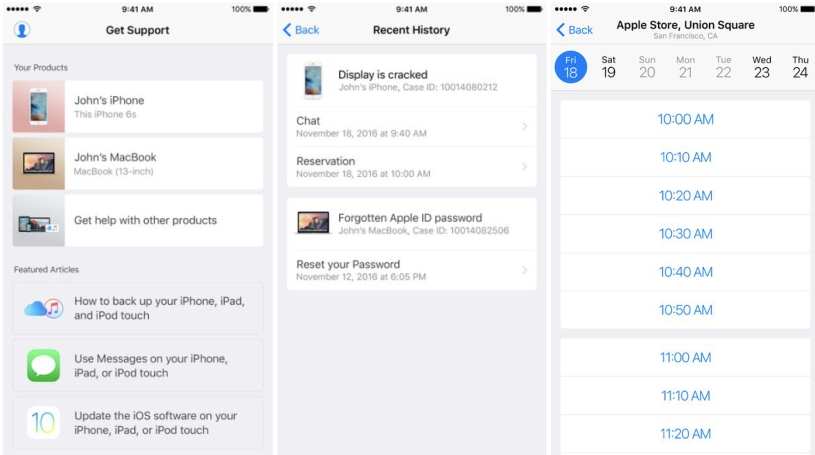 Apple Support App on iOS That Adds a Host of New Feature