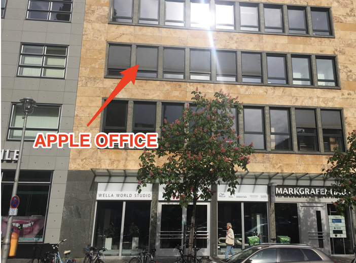 Apple's Mysterious Office In Berlin