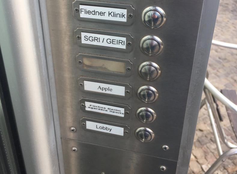Apple's Mysterious Office In Berlin