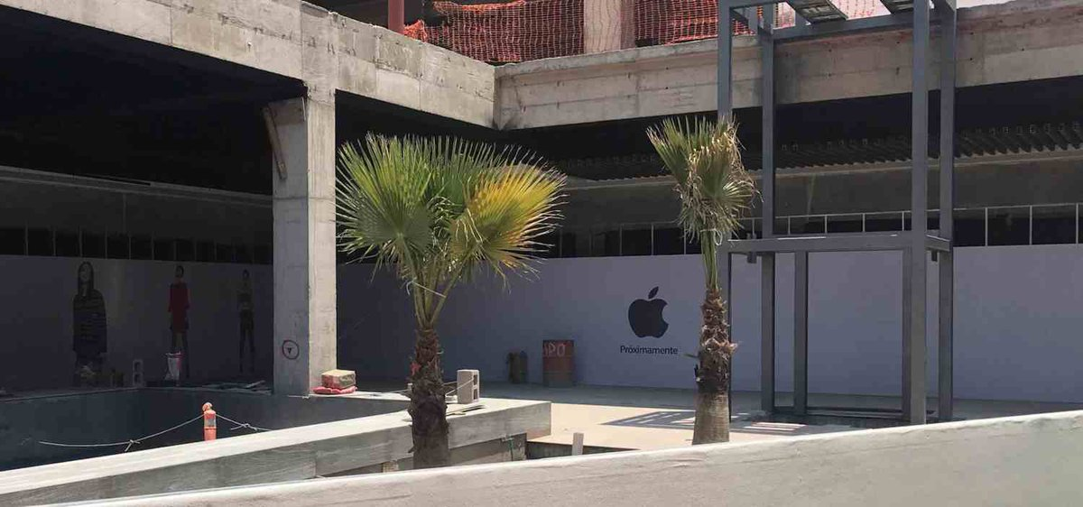 Apple Planning New Mexico Retail Location in San Luis Potosi Mall