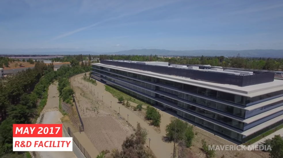 Google Maps joins Apple Maps in 3D coverage of Apple Park