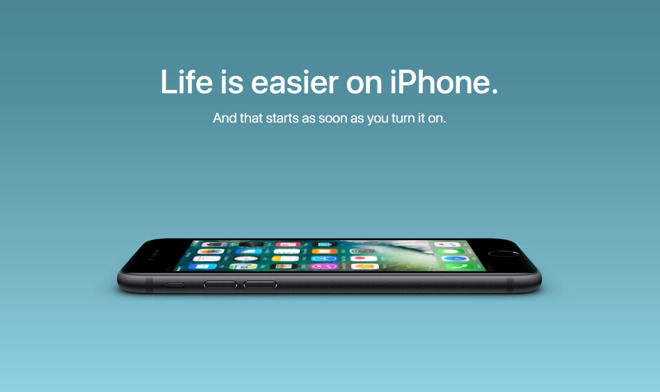 New Apple ads Tout People Switching From Android Devices to iPhones.