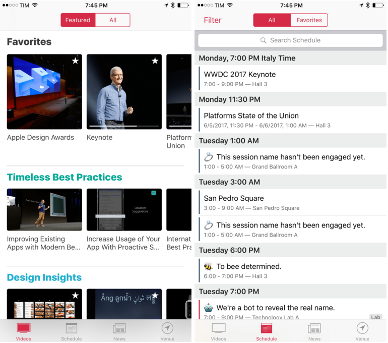 WWDC App Updated with New Design and Features