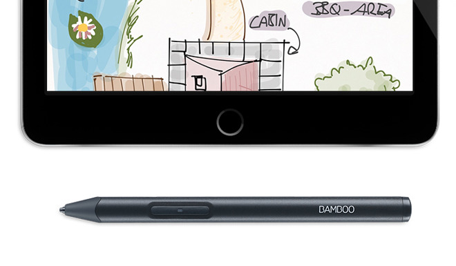 Bamboo Sketch Stylus Brings Apple Pencil Features to any iPad