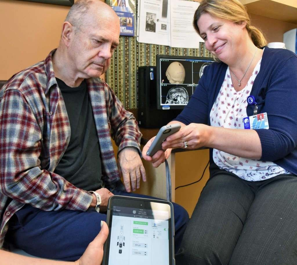 iPod Controls Albany Med Patient's Deep-brain Stimulation Device