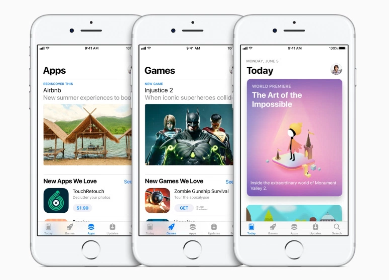 Meet the Completely Redesigned App Store For the iPhone