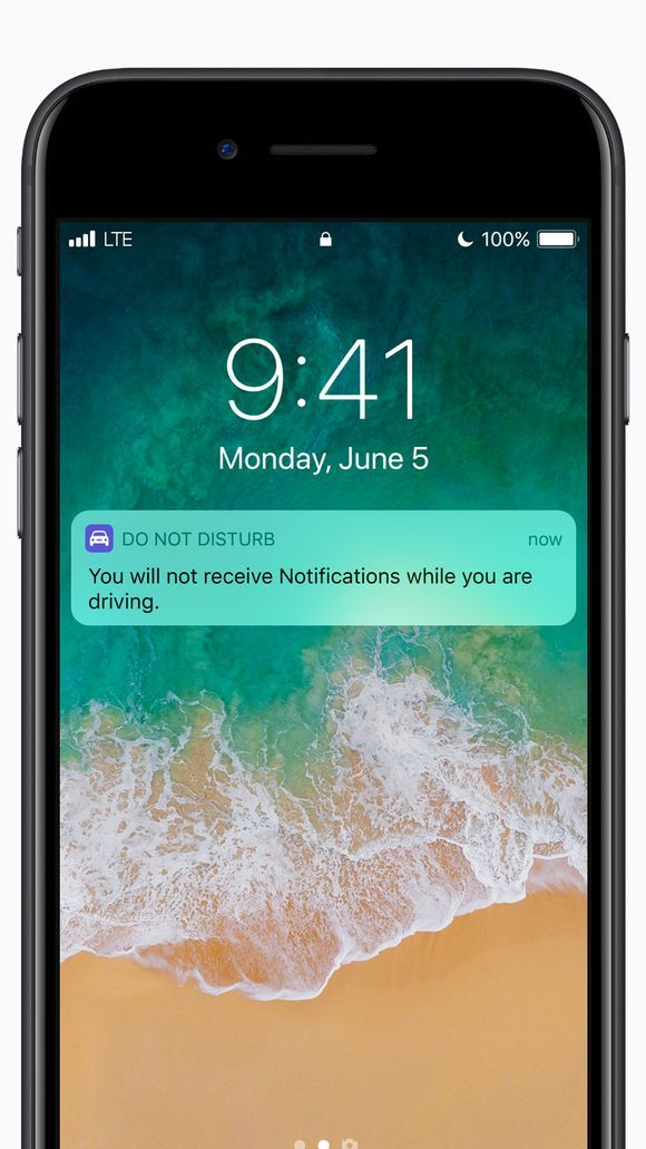 iPhone Will Get 'Do Not Disturb While Driving' Mode in iOS 11 this Fall