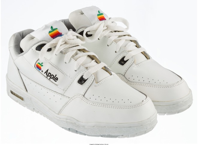 Apple Branded Sneakers From Early 90s to Auction Off for Over $15,000
