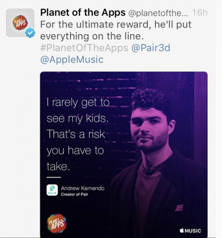 Apple Is Getting Roasted Over This Ad For Planet of Apps