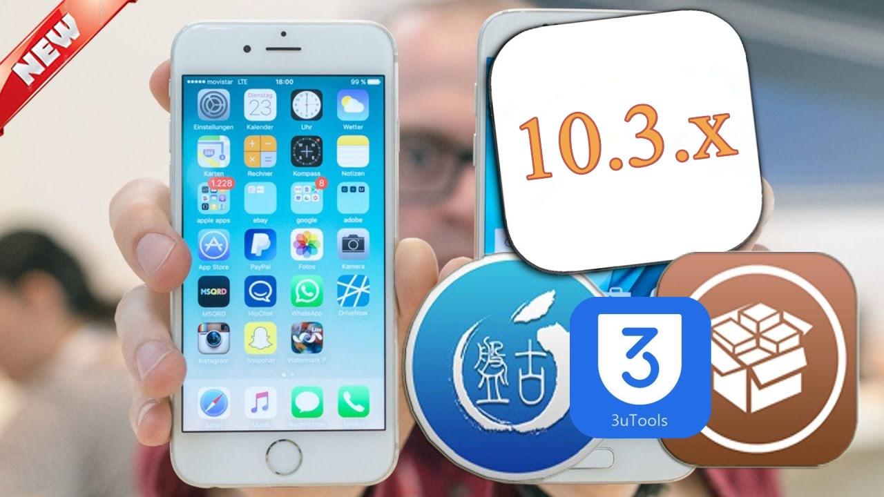 iOS 10.3.x Jailbreak Tool Update Latest Information
