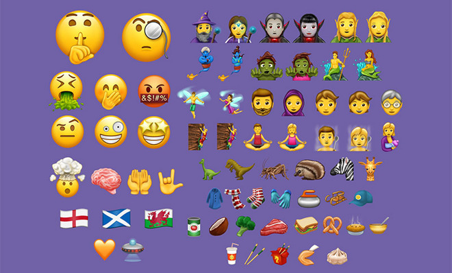Unicode 10.0 Arrives With 56 New Emoji Characters for iOS Integration