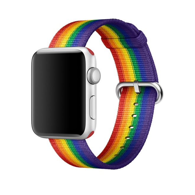 Apple Donating Some Proceeds From Apple Watch Pride Band to LGBTQ Groups