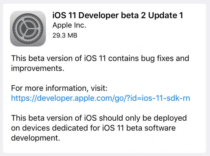 First Public Beta of iOS 11 is Available in 3uTools
