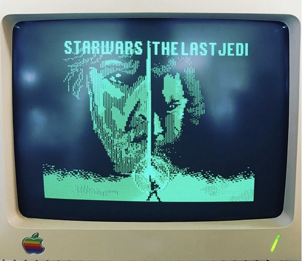 New Stars Wars trailer remade on a 1984 Apple computer
