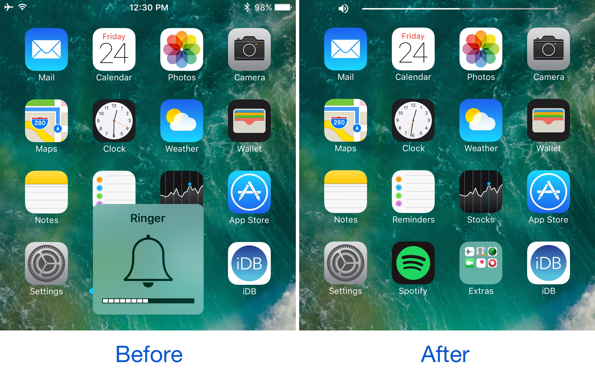 The Best Jailbreak Tweaks for the Volume HUD in iOS 10 - 3uTools