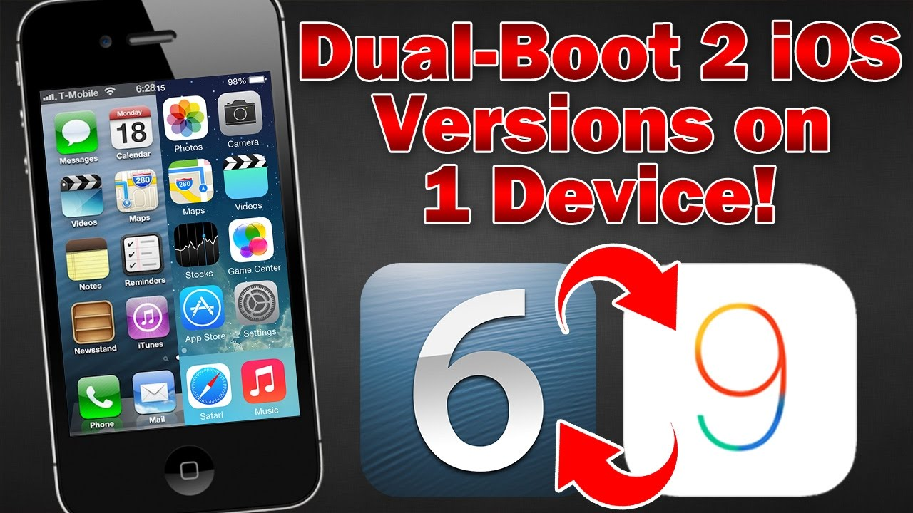 How to Dual-Boot 2 Versions of iOS on iPhone 4s? - 3uTools