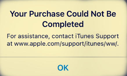 [Fix] Your Purchase Could Not Be Completed?