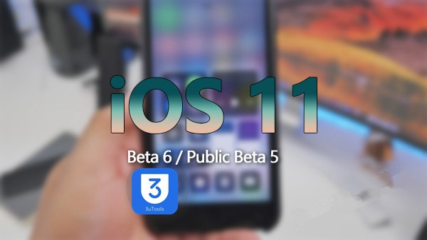 Upgrade to iOS 11 Beta 6 on 3uTools