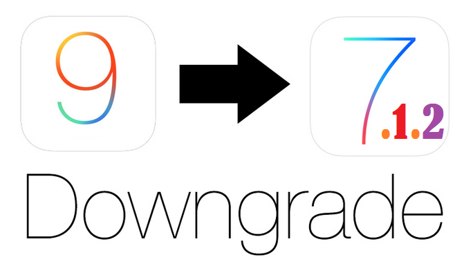 Downgrade to iOS 7.1.2 from iOS 9.3.5 without SHSH