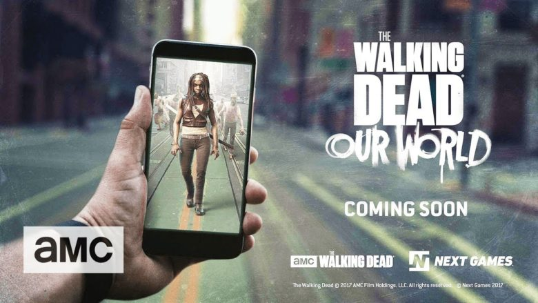 Augmented Reality Walking Dead Game Brings Zombies into our World