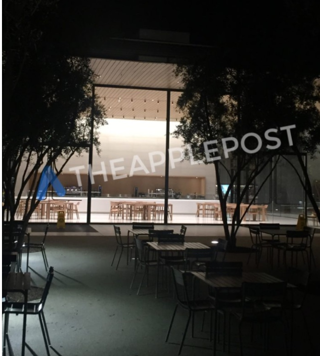 Apple Park Visitor's Center Shown Off in New Images