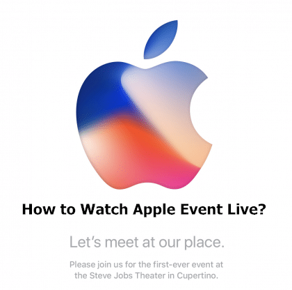 ​How to Watch Apple Event Live?
