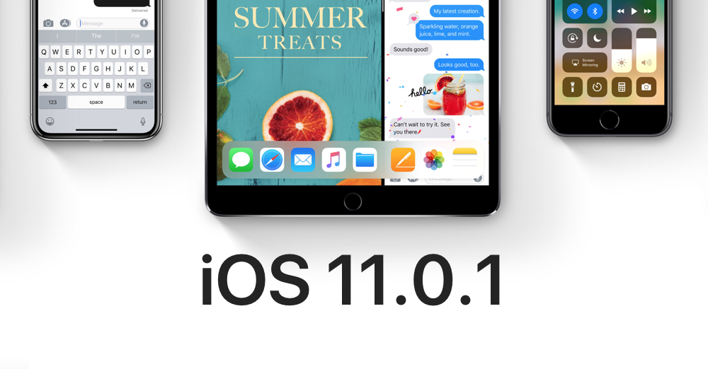 iOS 11.0.1 is Available on 3uTools