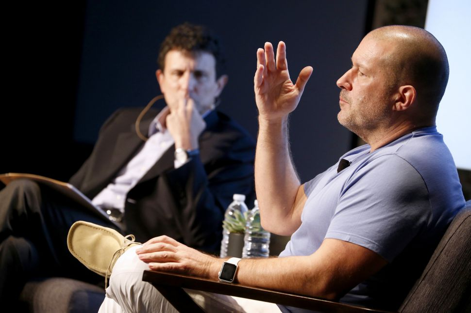 Apple's Jony Ive Reveals iPhone X Was In Development for 5 Years