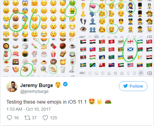 Twitter now Supports Apple's New Emoji that Almost Nobody Can See yet