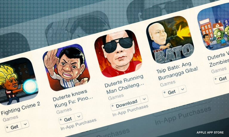 People Are Petitioning for Apple to Take Down Games Glorifying Duterte's War on Drugs