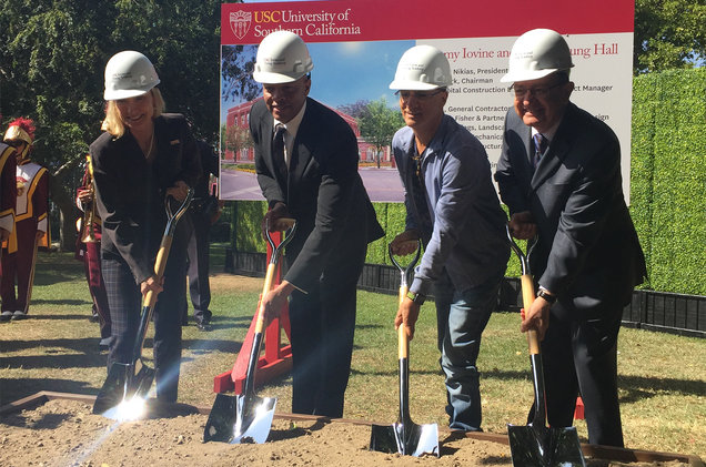 Jimmy Iovine and Dr. Dre Break Ground on Permanent Home for Their USC Academy