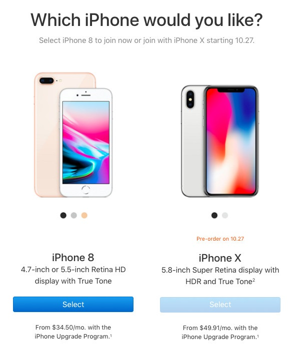 Apple Opens Up Pre-approval For iPhone X Buyers in iPhone Upgrade Program