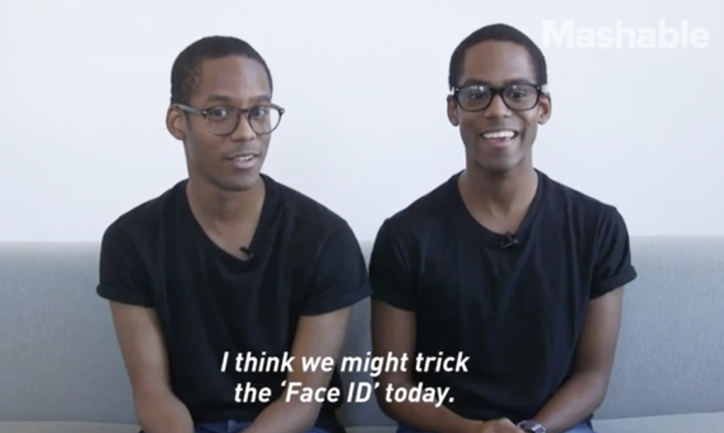 Test of Twins Using Face ID to Unlock iPhone X