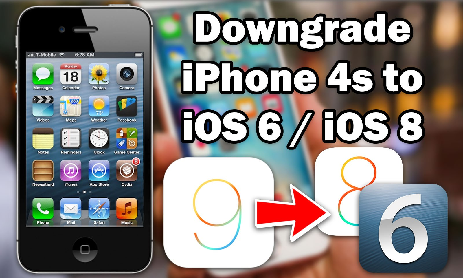 Downgrade iPhone 4s / iPad 2 to iOS 6.1.3 Using 3uTools