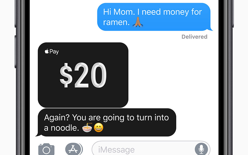 Apple Pay Cash is Available in iMessage to iOS 11.2 Beta Users