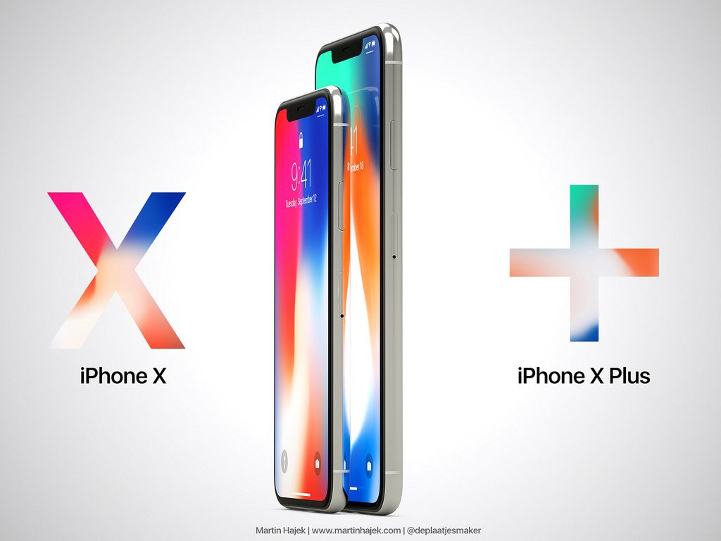 New Renders Visualize iPhone X Plus With Massive 6.7-inch Display