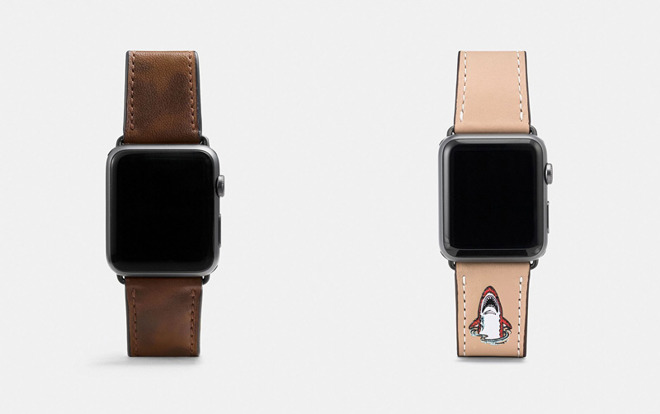 7b53f637 Coach Ships Four New Apple Watch Bands for Men & Women - 3uTools