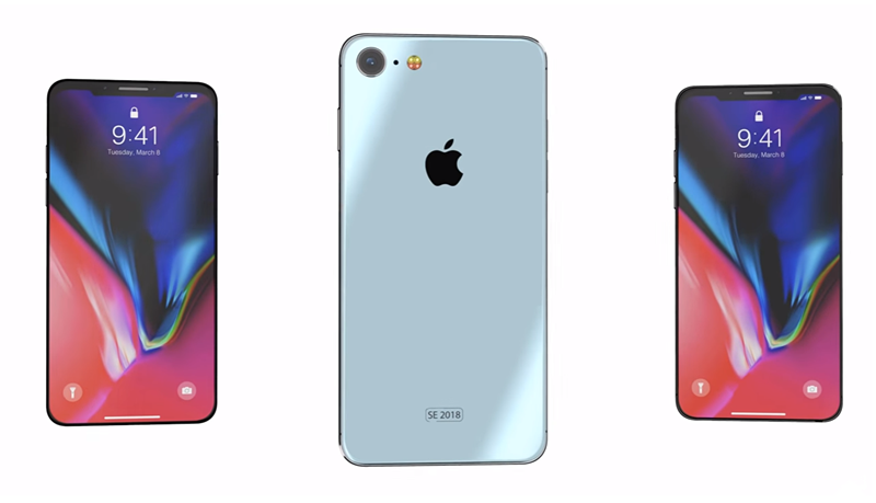 Can You Image iPhone SE 2 With iPhone X Style Screen and Notch