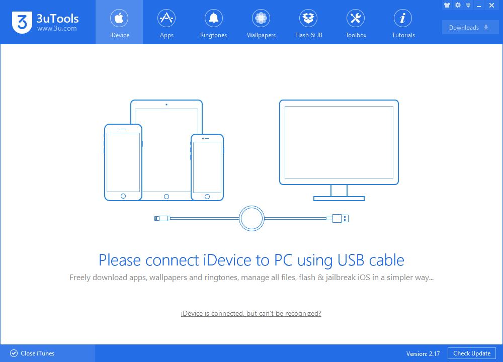 3uTools Jailbreaks iOS8.0~8.4 Untethered Tutorial