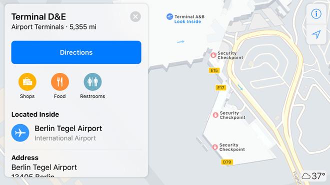 Apple Adds Indoor Maps for Airports in Berlin, London, Geneva & Amsterdam