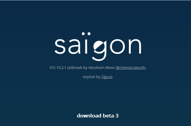 Saïgon Jailbreak Beta 3 for 10.2.1 is Available!