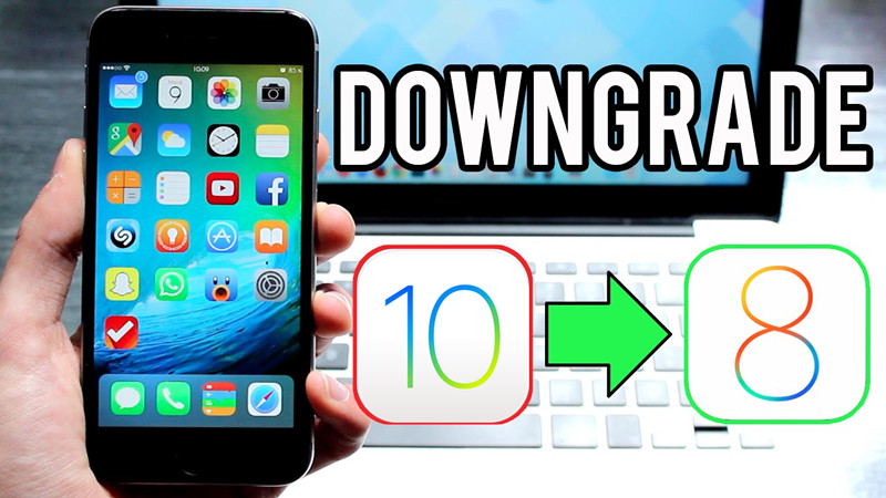 Downgrade iPhone 5 / iPad 4 From iOS 10 -10 3 3 to iOS 8 4 1