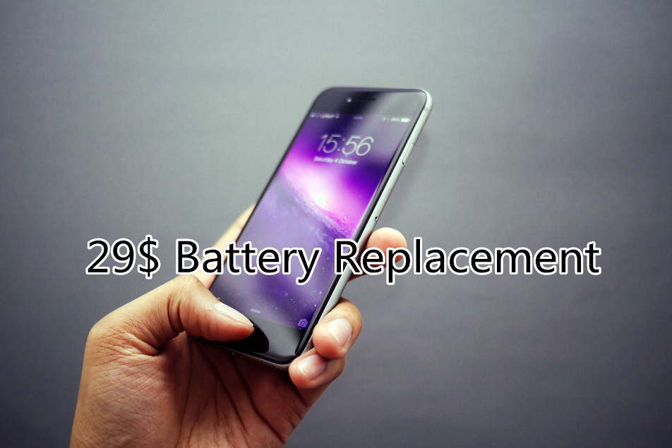 How to take advantage of Apple's $29 iPhone battery replacement program right now