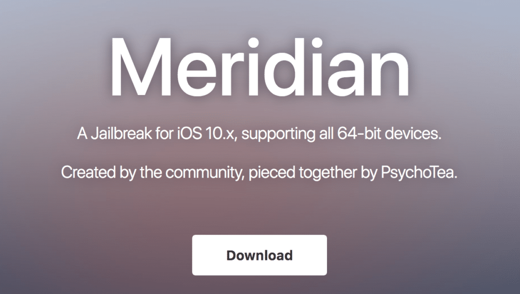 Meridian iOS 10.3.3 Jailbreak for 64-bit iOS Devices Released